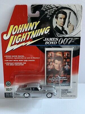 2001 Johnny Lightning James Bond 007 Tomorrow Never Dies 64 Aston Martin Db5 Ebay In 2021 Aston Martin Db5 Db5 Aston Martin