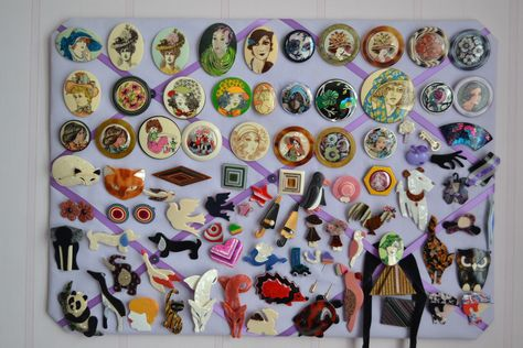 Lea Stein Brooches / Pins Collection