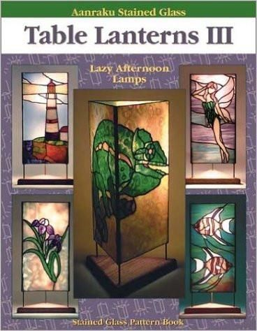 Stained Glass Aanraku  VICTORIAN DESIGNS I PATTERN BOOK