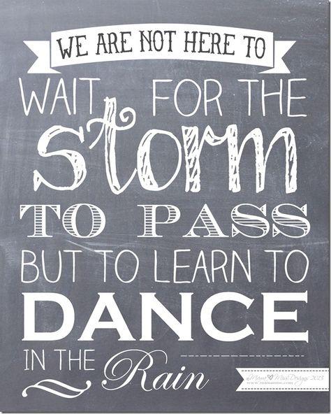 Rainy Day Quotes On Pinterest