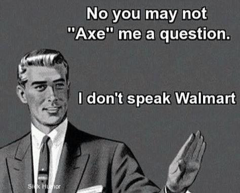 I don't speak Walmart!! Haha that's why I'm a Target girl!! ♥