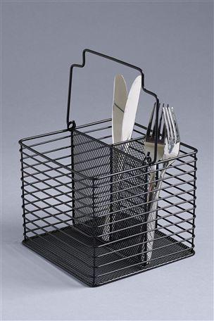 Black Wire Cutlery Caddy Cutlery Caddy Cutlery Sets Cutlery