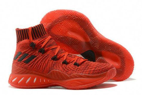 finest selection 7da60 7f2a6 2017 2018 Daily adidas Crazy Explosive 2017 Primeknit Chinese Red Black  Basketball Shoe For Sale  basketballshoessale