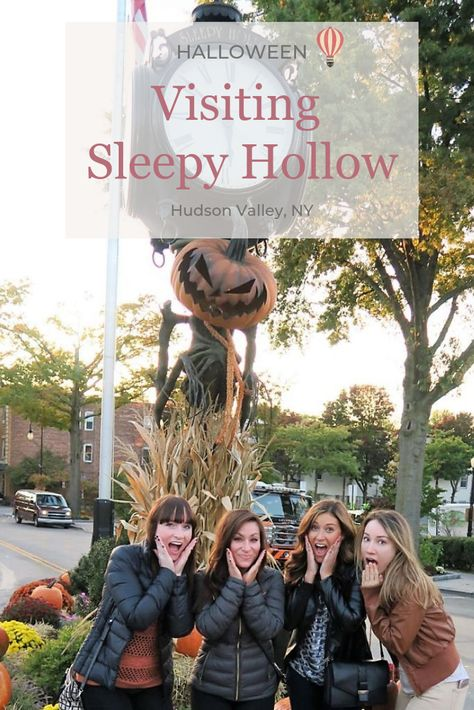 Visiting Sleepy Hollow in the Hudson Valley of New York. Touring the town that inspired The Legend of Sleepy Hollow was one of the best Halloween activities from NYC in October! Sleepy Hollow New York, Legend Of Sleepy Hollow, Sleepy Hollow Town, Sleepy Hollow Halloween, York Things To Do, New York Travel Guide, East Coast Road Trip, Autumn In New York, All I Ever Wanted
