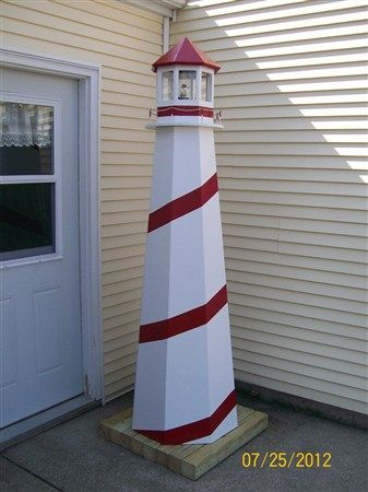 Free lighthouse building plans lawn lighthouse woodworking plans free lighthouse building plans lawn lighthouse woodworking plans build you own lawn lighthouse with fun woodworking projects pinterest sciox Choice Image