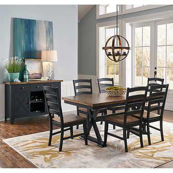 Ella 8 Piece Dining Set Interior Design Dining Room Dining Room