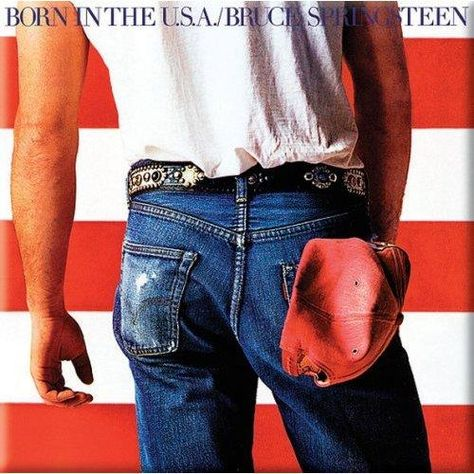Bruce Springsteen Born In The USA Fridge Magnet