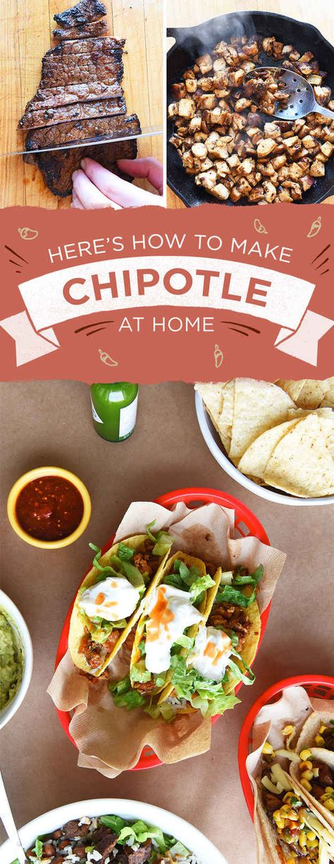 Here's How To Make All The Best Parts Of The Chipotle Menu...the meat, oh and the tofu!