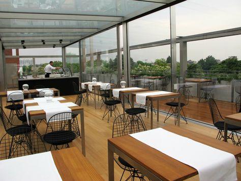Restaurant Triennale Rooftop Rooftop Inspiration Terrazzo