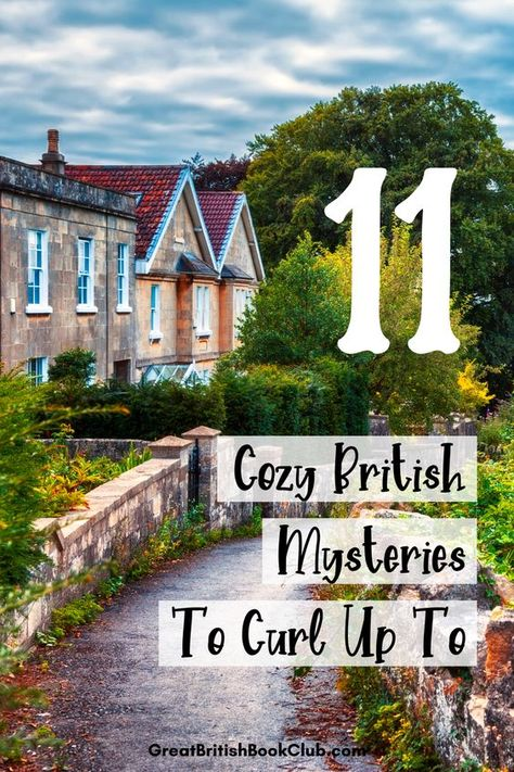 11 of the best British cozy mystery novels - whether you like cozy mysteries or you just like pretty English villages, these are some great book recommendations to keep you busy. Best Mystery Novels, Best Mysteries, Cozy Mysteries, Murder Mysteries, Good Mystery Books, I Love Books, Great Books, Books To Read, My Books