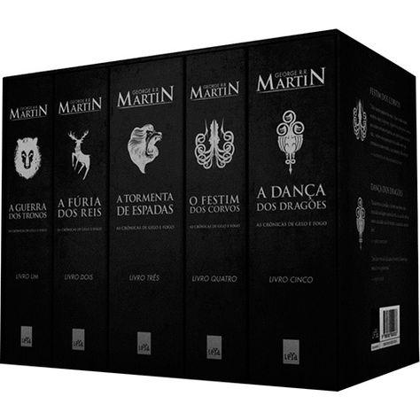 Submarino Livro Box As Cronicas De Gelo E Fogo Volumes 1 2 3
