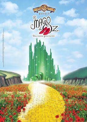 Nuevo Musical En Parque Warner El Mago De Oz Una Nueva Generación Mago De Oz Musical Ciudad Esmeralda