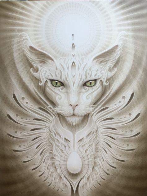 The Mystic Cat from A. Andrew Gonzalez Art Shop