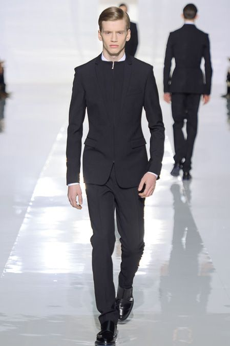 love the zipped blazer (Dior Homme FW 2013)