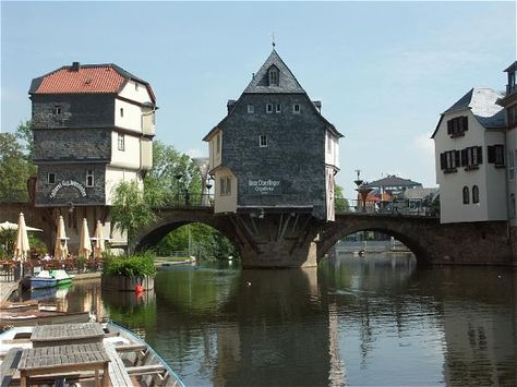 Bad Kreuznach, Germany - Susi's incredibly picturesque hometown.  Another place I want to re-visit...