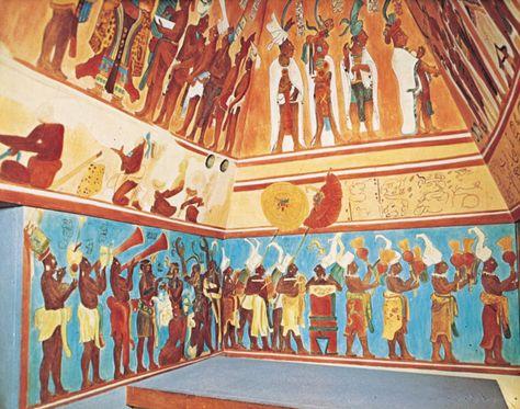 Mexico Estados De A M Por Emma Alexandre Murales Mayas Arte