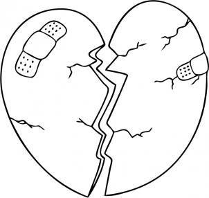 Gebrochenes Herz Zeichnen Tutorial Dekoking Zeichnen