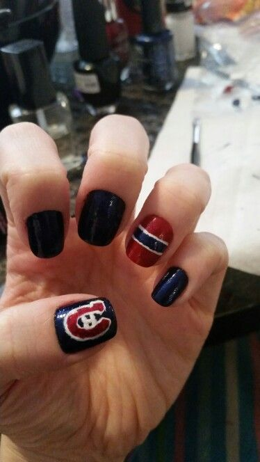 Montreal canadiens nail art gohabsgo habs pinterest montreal canadiens nail art gohabsgo habs pinterest gorgeous nails and makeup prinsesfo Image collections