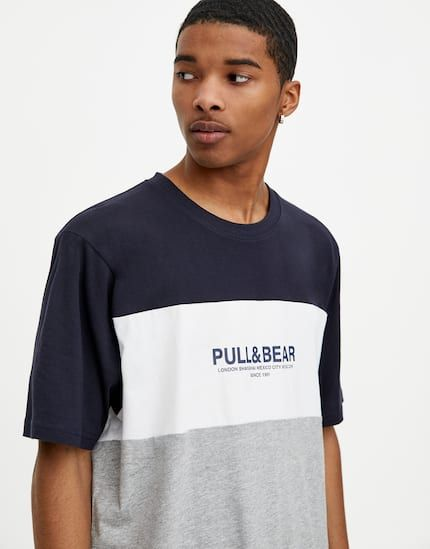 t shirt homme pull and bear
