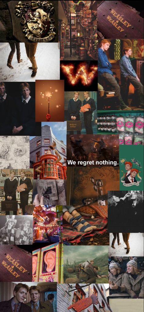 Weasley twins aesthetic wallpaper