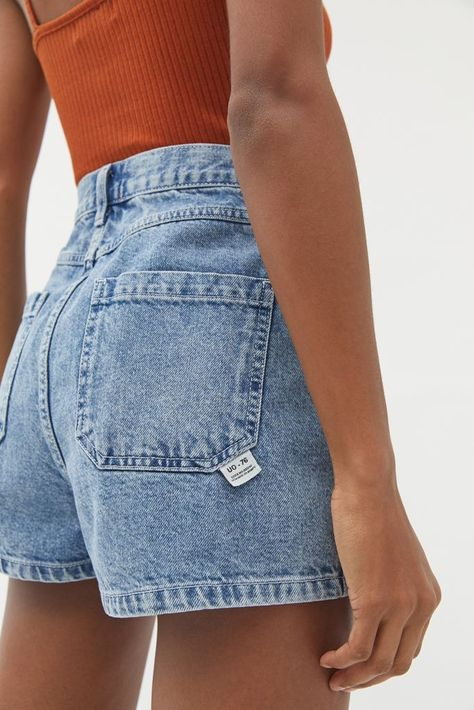 Women Jeans Shorts Outfit Summer Black Pants Mens Camo Denim Shorts Smart Formal Attire For Ladies Drawstring Pants Moda Casual, Casual Chic, Casual Fall, Mode Outfits, Fashion Outfits, Fashion Shorts, Jackets Fashion, Hijab Fashion, Fashion Clothes