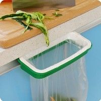 Kitchen Cabinet Door Trash Bag Holder Hanging Bags Trash Rack * Learn more by visiting the image link. (This is an affiliate link)