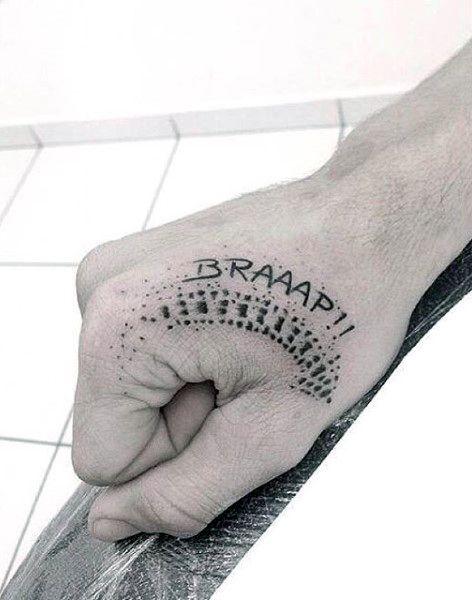 Mens Hand Motocross Tattoo Ideas                                                                                                                                                                                 Más