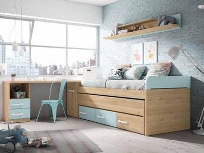 Compactos Camas Dobles Con Imagenes Habitaciones Juveniles Dormitorios Ideas De Cama