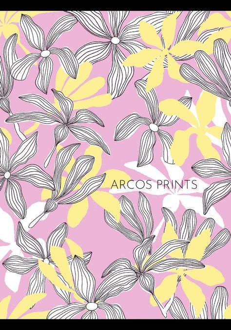 Arcos Print . I love to animate my Patterns . They look so cute