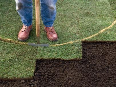 How To Resod A Lawn Crabgr Lay Sod