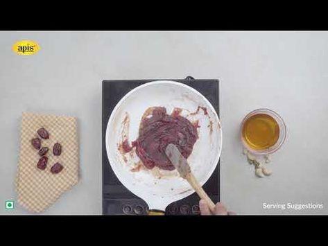 Apis Dates Halwa   khajoor ka halwa   डेट्स (खजूर) हलवा रेसिपी   With Apis Honey   No Sugar