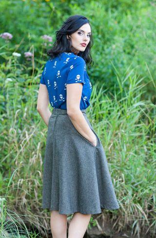 Prim Class Hero Skirt   Mod Retro Vintage Skirts   ModCloth.com