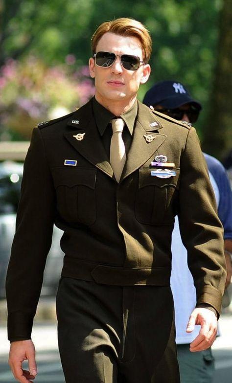 Chris Evans as Steve Rogers in 'Captain America: The First Avenger' (2011)