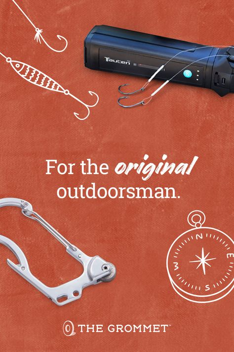 Shop unique and amazing gifts you've never seen for your favorite outdoorsman this Father's Day. From fishing to hiking to camping, you'll find gifts for Dad's every interest.