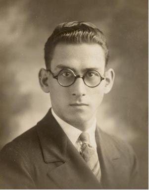 Israel regardie with fantastic glasses