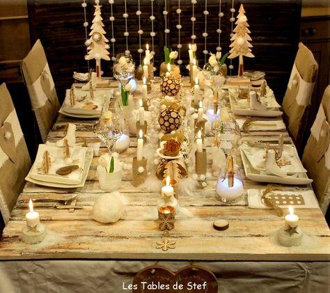 Table De Noël Inspiration Nature - Table De Noël : Nos Idées De
