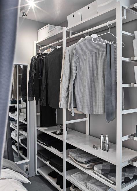 Hoekkast Kleding Ikea.Nederland Ikea Kast Slaapkamer Open Kleerkast En Inloopkast