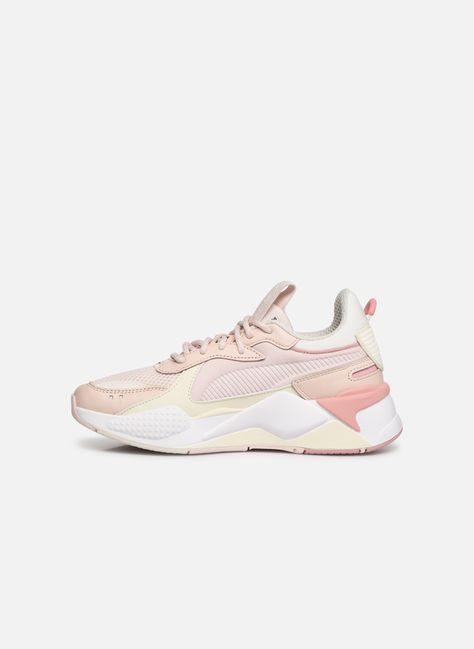 Puma Rs-X Tracks (Rose) - Baskets chez Sarenza (350825)