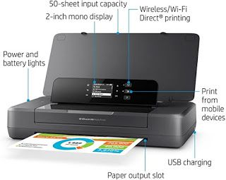 Computer Printers Hp Officejet 200 Portable Printer With Wireless En 2020