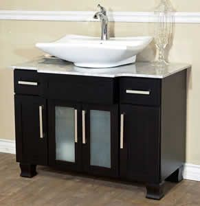 Single Bathroom Vanities Small