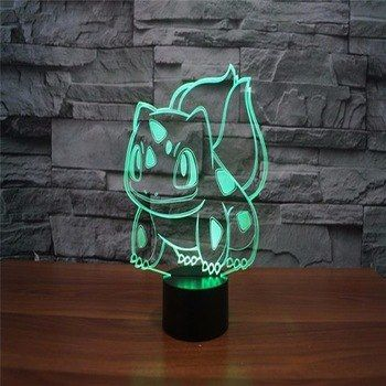 Universe Of Goods Buy 3d Led New Anime Kids Gift Colorful Night Light With Usb Illusion Table Lighting Pokemon Go Night L 3d Light Pokemon Light 3d Led Lamp