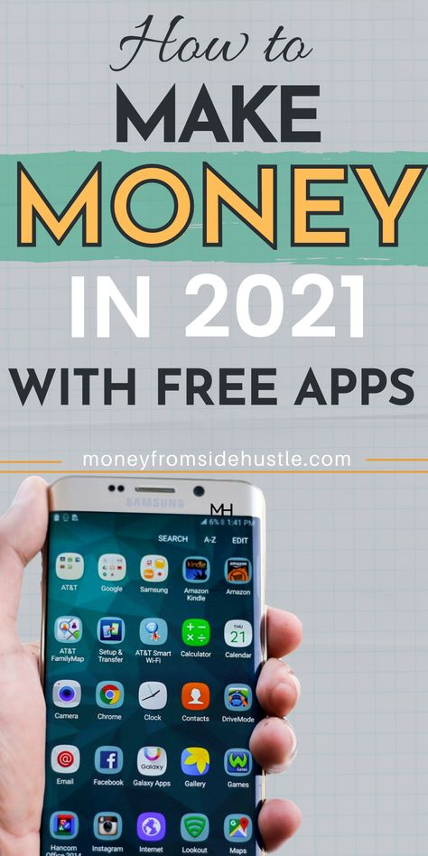 Make Money Online With Free Apps in 2021