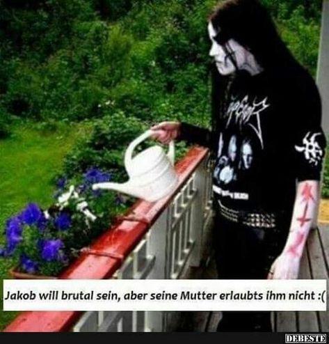 Pin von Heike Schlatterer auf Heavy Metal | Bilder, Lustig