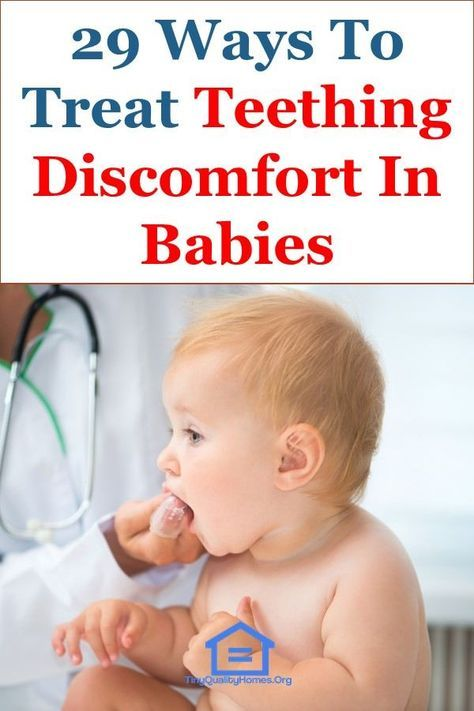 How To Treat Teething Discomfort In Babies 29 Natural Ways This Article Discusses Ideas On The Foll Teething Discomfort Baby Teething Remedies Baby Remedies