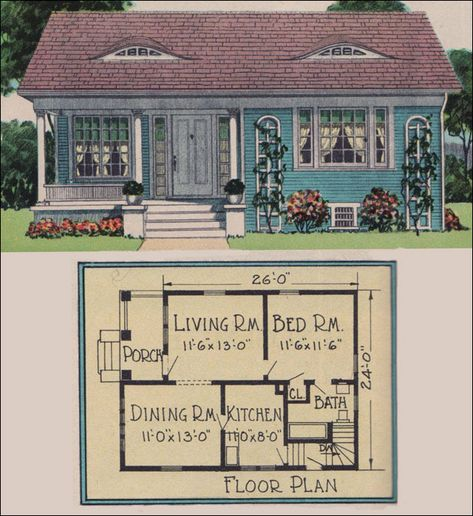 Around 800 sq ft house plans on pinterest small house for Builder magazine house plans