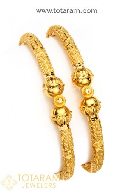 f05dac56d Gold Bangles for Women in 22K Gold -Indian Gold Jewelry -Buy Online
