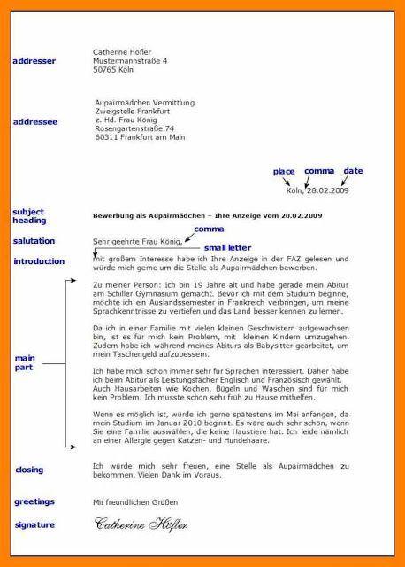 Adressbuchstabe 2019 Lebenslaufvorlagen Bild Fur Mehr Anklicken Cv Vo A2 In 2020 Brief Deutsch Briefe Schreiben Deutsch Schreiben