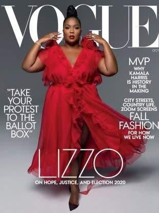 Vogue Magazine October 2020 - Lizzo Cover - Default Title