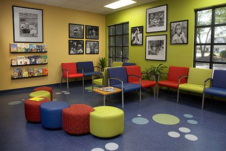 Kid friendly waiting room for pediatric practice and hospital commercial design portfolio pinterest waiting