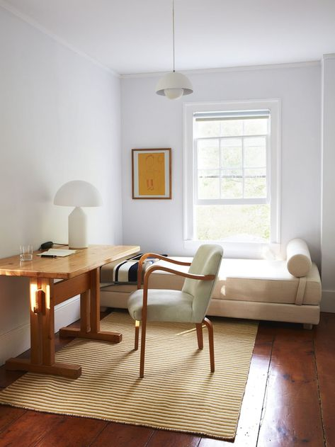 The Wood Style We Didn't See Coming - Chunky, Knotty Pine Furniture Is Back (Or Is It?) - Emily Henderson